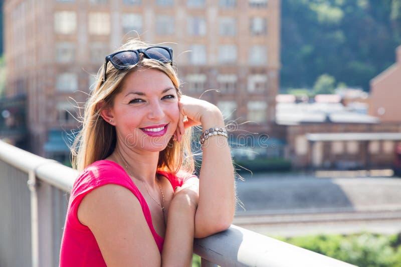 Vestido cor-de-rosa 4 imagem de stock royalty free
