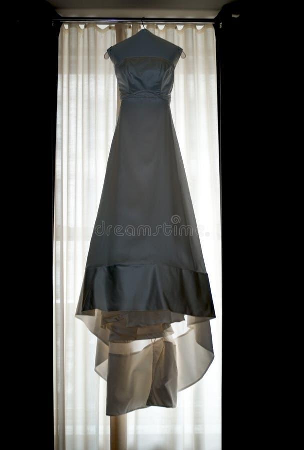 Download Vestido de casamento imagem de stock. Imagem de vestido - 58651