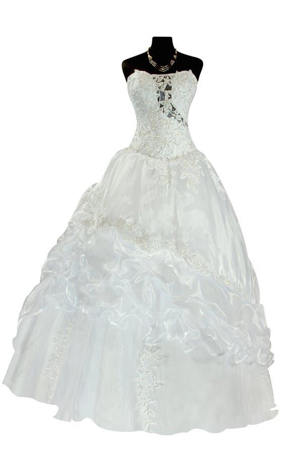 Vestido de casamento fotos de stock