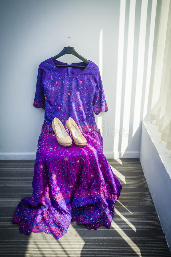 Vestido De La Boda Del Pakistaní Femenino Imagen de archivo - Imagen ...