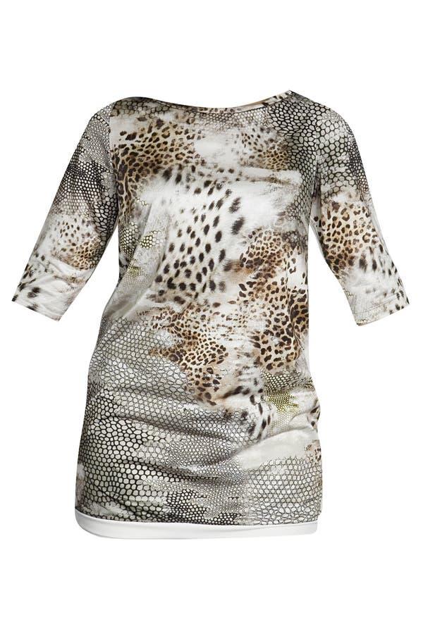 Vestido de la moda del leopardo imagen de archivo