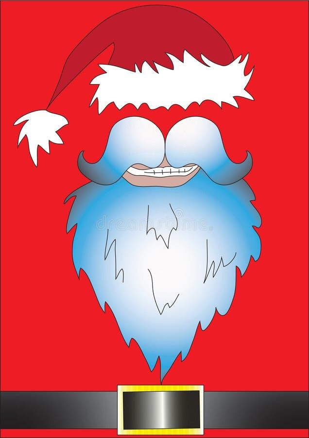Vestido de lujo de Santa Claus del santo imágenes de archivo libres de regalías