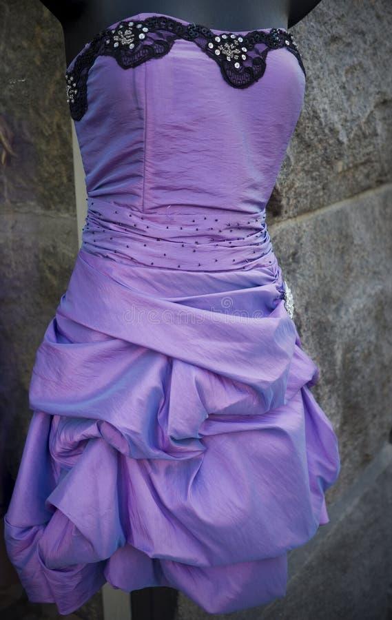 Download Vestido de noite roxo imagem de stock. Imagem de mulheres - 16868759