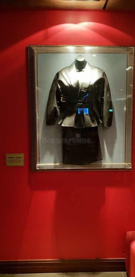 Vestido de Sheryl Crow foto de stock