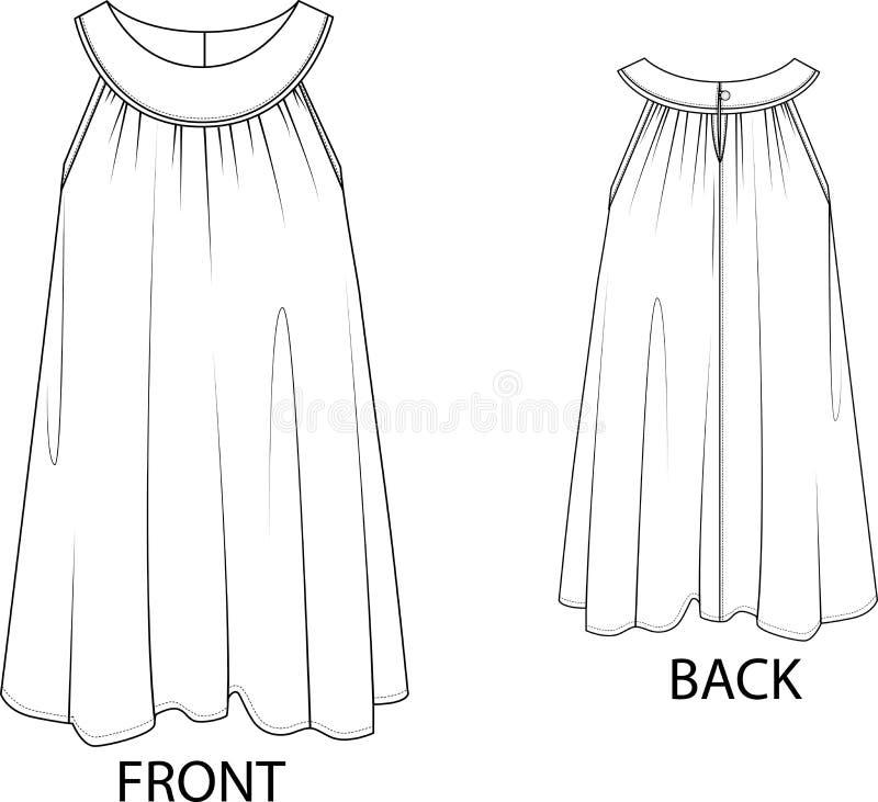 Vestido de Sun aislado en un fondo blanco imagenes de archivo