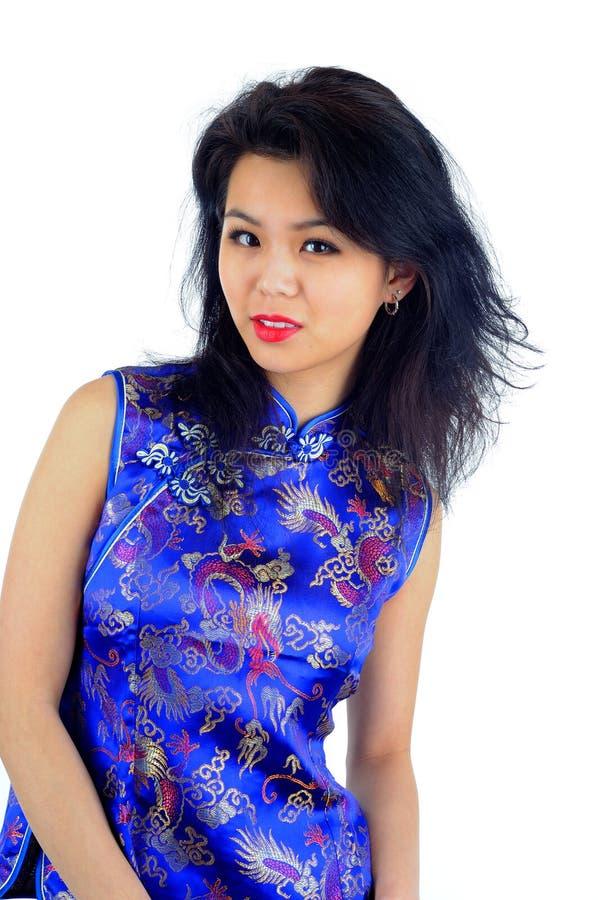 Vestido del mandarín fotografía de archivo libre de regalías