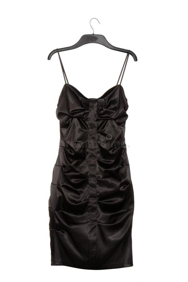 Vestido do cetim fotografia de stock
