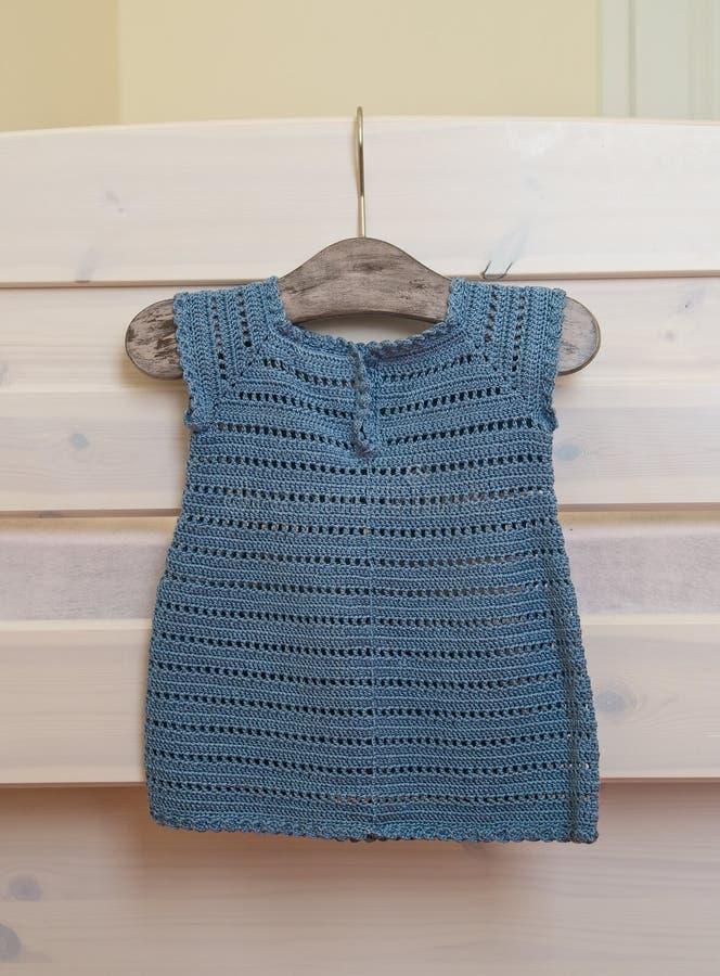 Vestido do Crochet fotografia de stock royalty free