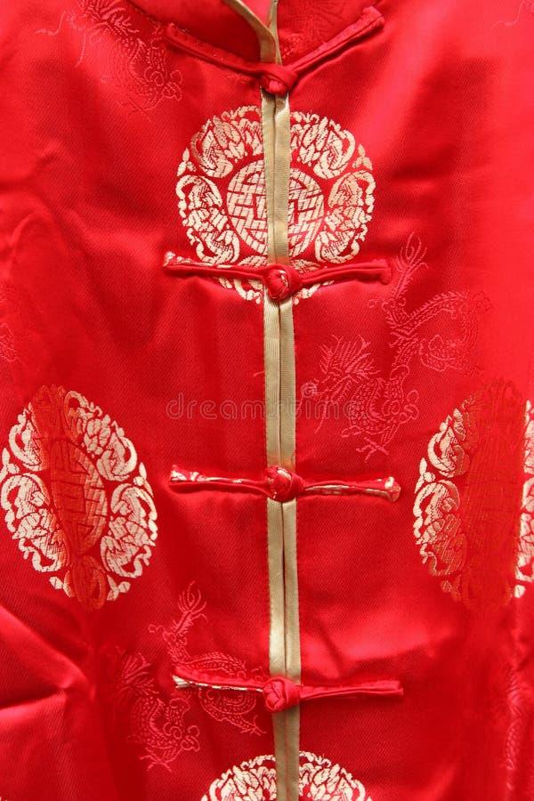 Vestido do estilo chinês imagens de stock royalty free