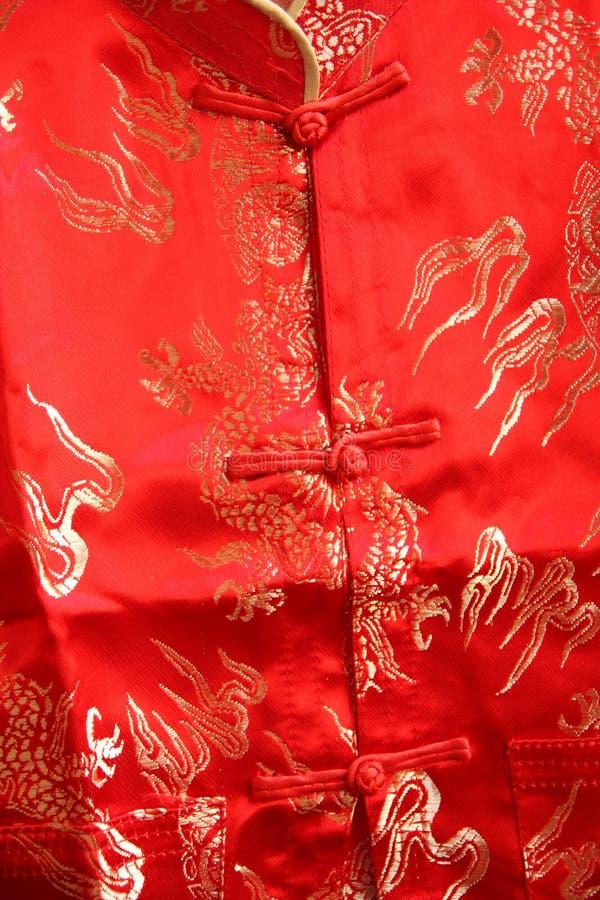 Vestido do estilo chinês. fotografia de stock