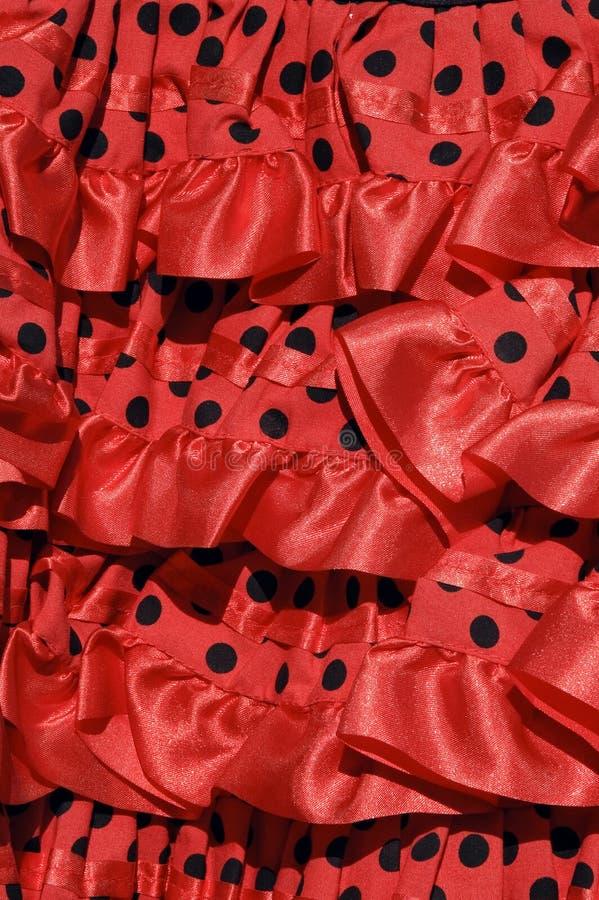 Vestido do Flamenco imagem de stock