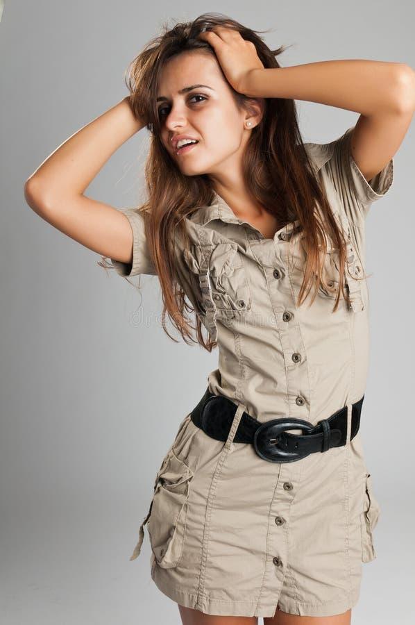 Vestido do safari fotos de stock