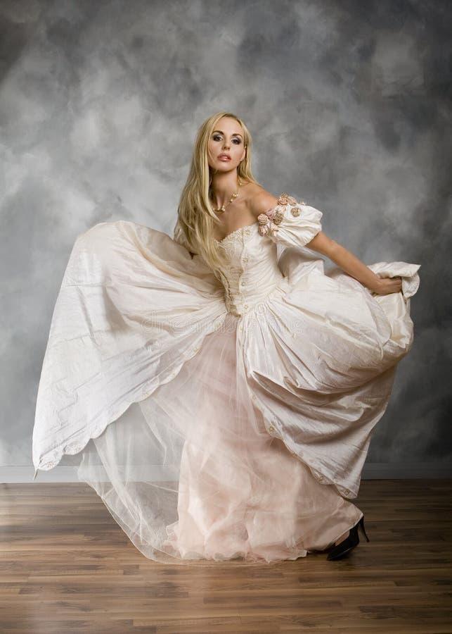 Vestido do vintage imagem de stock