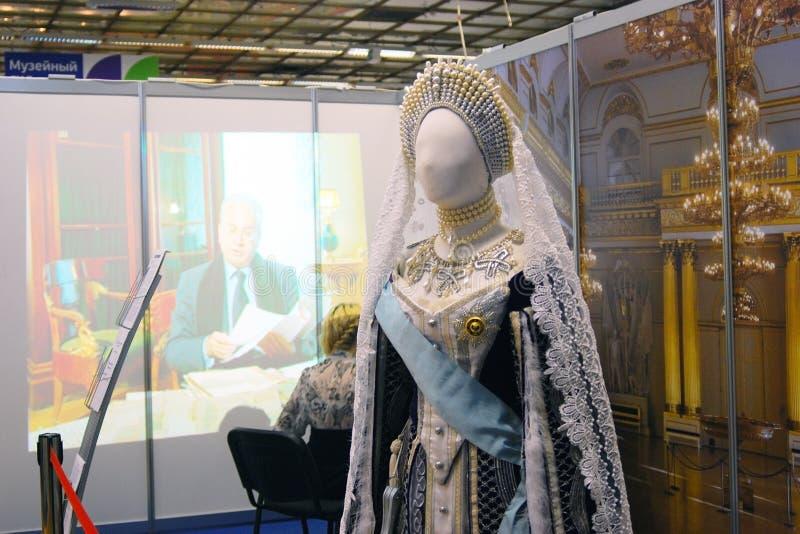Vestido do vintage no manequim foto de stock royalty free