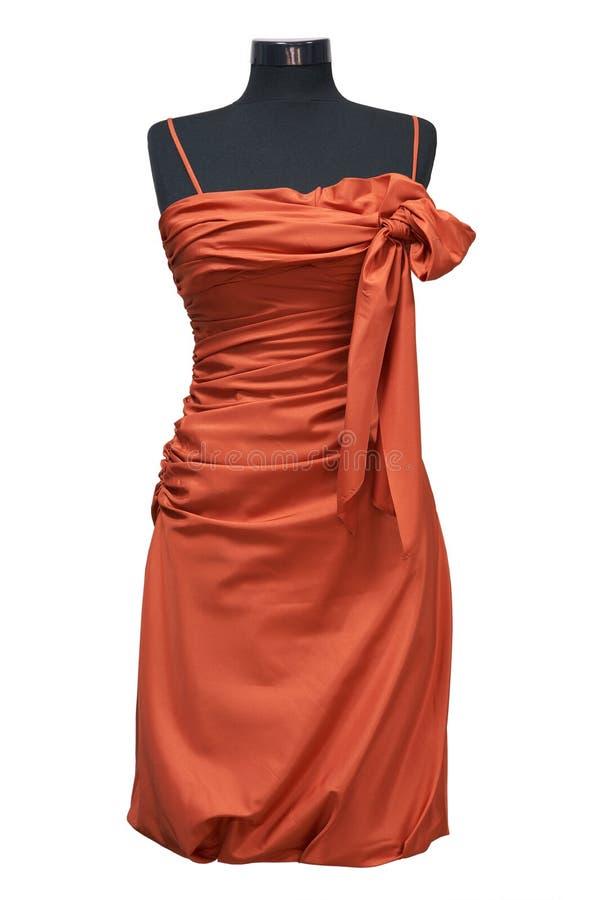 Vestido fêmea comemorativo fotografia de stock royalty free
