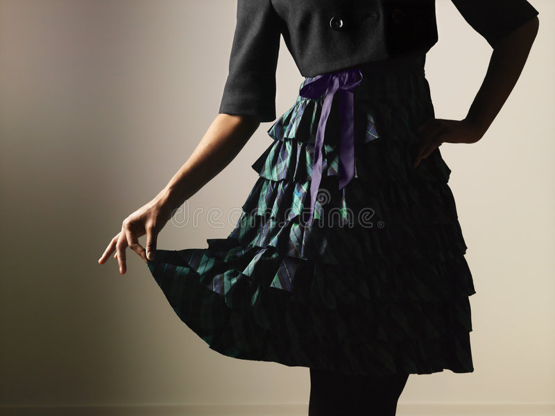 Vestido feminino da mulher foto de stock royalty free