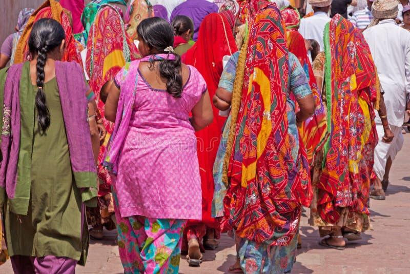Vestido indio colorido imagen de archivo