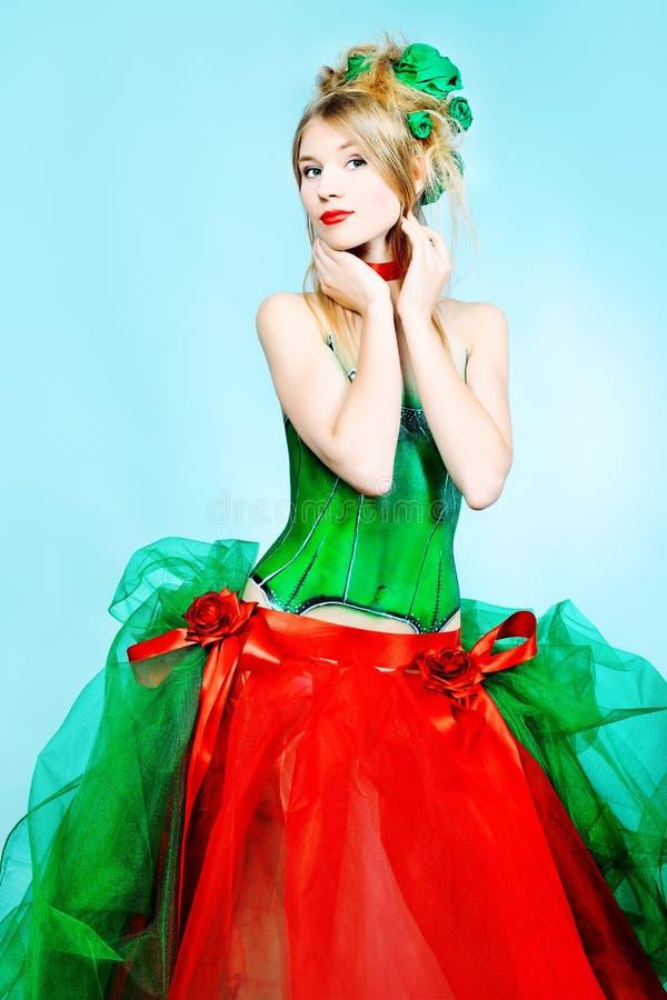 Vestido sazonal fotografia de stock