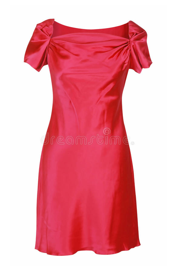 Vestido vermelho imagens de stock