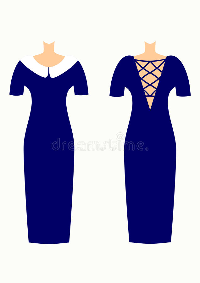 Vestidos Elegantes Hermosos Para El Ejemplo De Las Mujeres Stock de ...