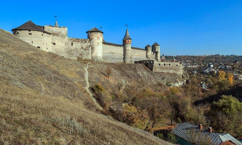 Vesting kamianets-Podilsky royalty-vrije stock foto