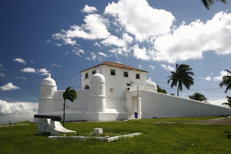 Vesting Mont Serrat Brazilië royalty-vrije stock afbeelding