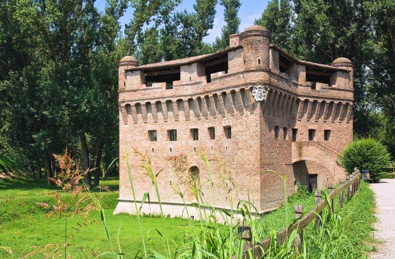 Download Vesting Rocca Stellata. Bondeno. Emilia-Romagna. Italië. Stock Foto - Afbeelding bestaande uit vesting, bouw: 29512378