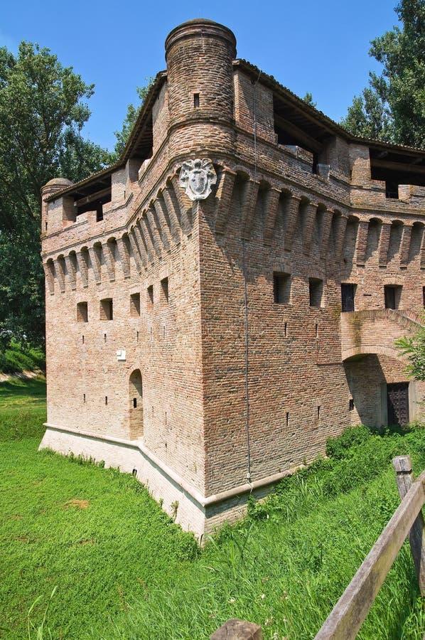 Download Vesting Rocca Stellata. Bondeno. Emilia-Romagna. Italië. Stock Foto - Afbeelding bestaande uit panoramisch, openlucht: 29512878