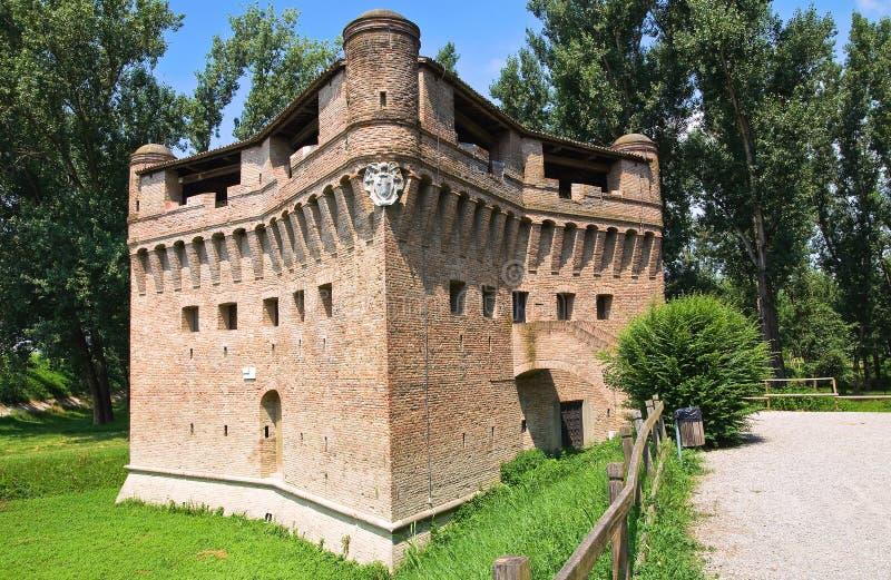 Download Vesting Rocca Stellata. Bondeno. Emilia-Romagna. Italië. Stock Afbeelding - Afbeelding bestaande uit eeuw, landschap: 29512913