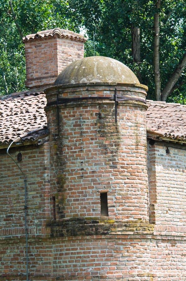 Download Vesting Rocca Stellata. Bondeno. Emilia-Romagna. Italië. Stock Afbeelding - Afbeelding bestaande uit detail, stad: 29513001