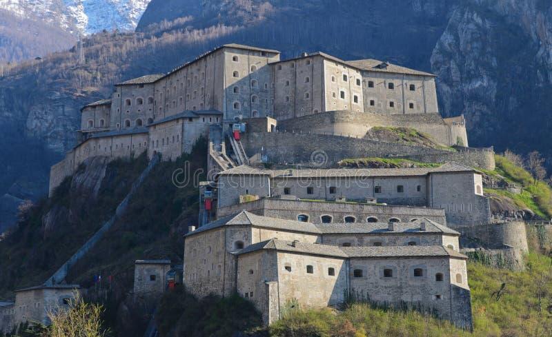 Vesting van Bard - Aosta-Vallei - Italië royalty-vrije stock fotografie