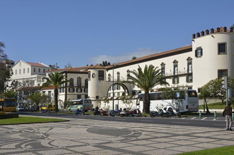 Vesting van St Lawrence, Funchal, Madera, Portugal stock foto's