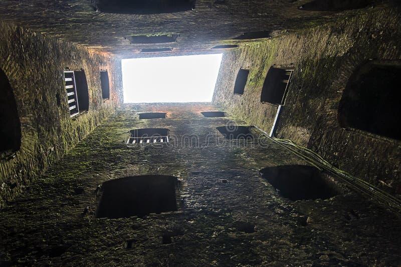 Vestingstoren stock afbeeldingen