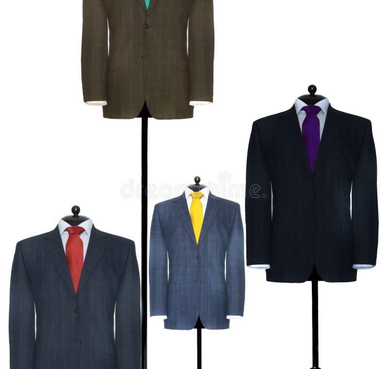 Vestiti dei elegants dell'uomo immagine stock