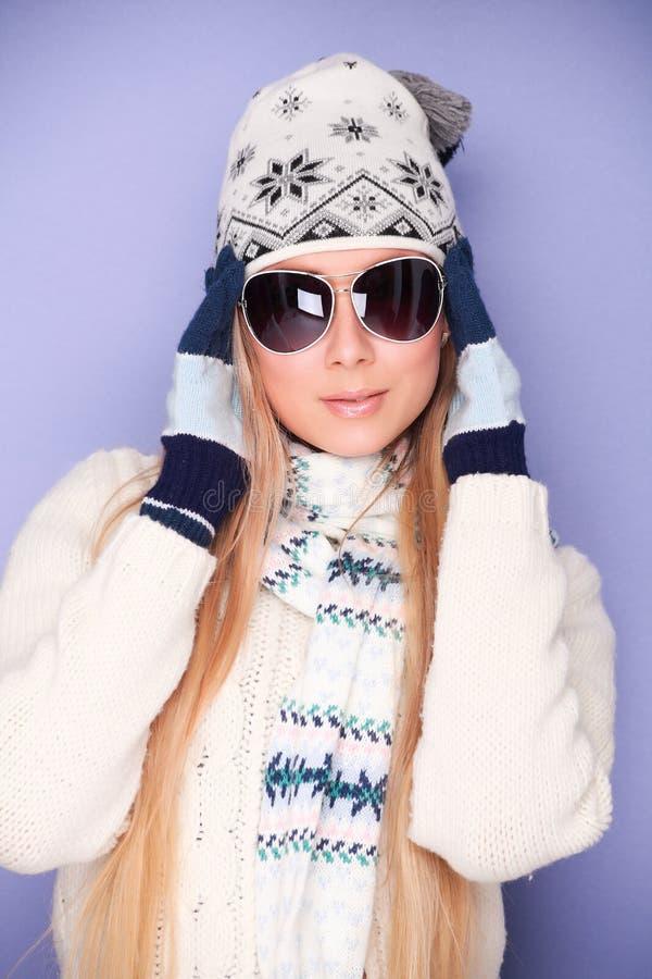 Vestiti di inverno immagini stock libere da diritti