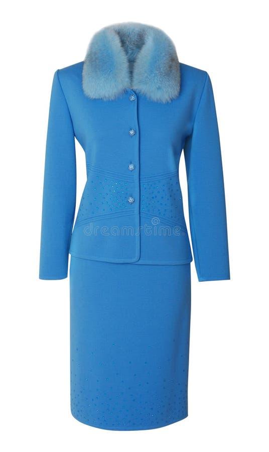 Vestito blu fotografia stock