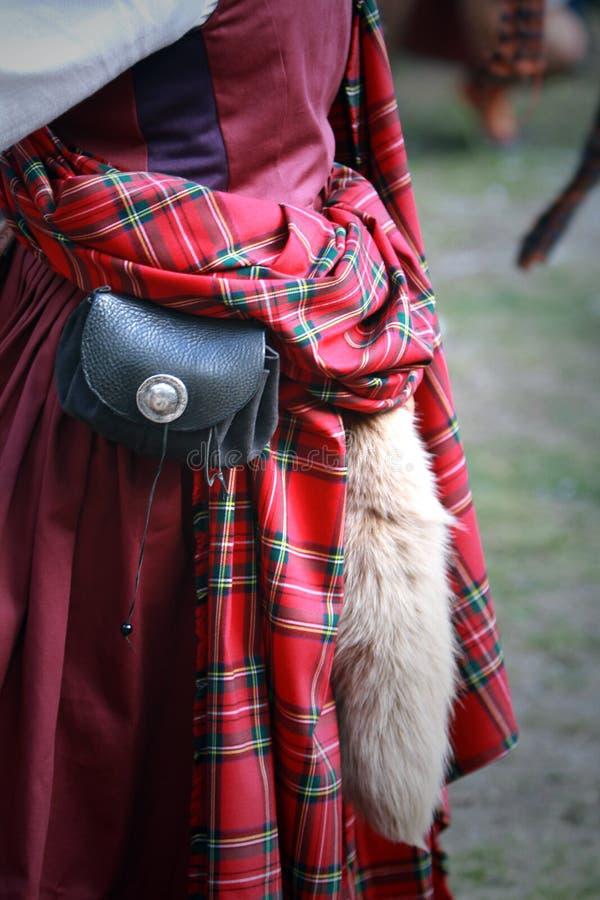 Vestito celtico fotografia stock