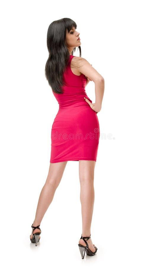 Vestito cremisi immagine stock libera da diritti