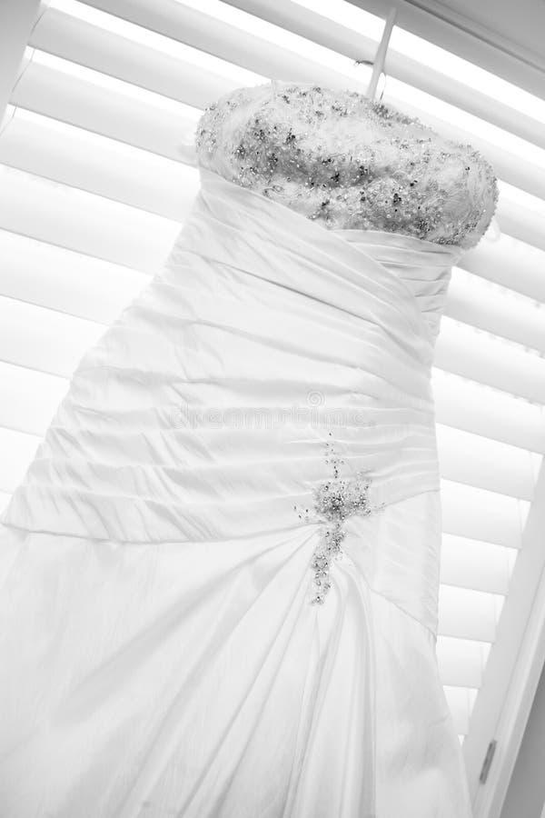 Vestito da cerimonia nuziale immagini stock libere da diritti