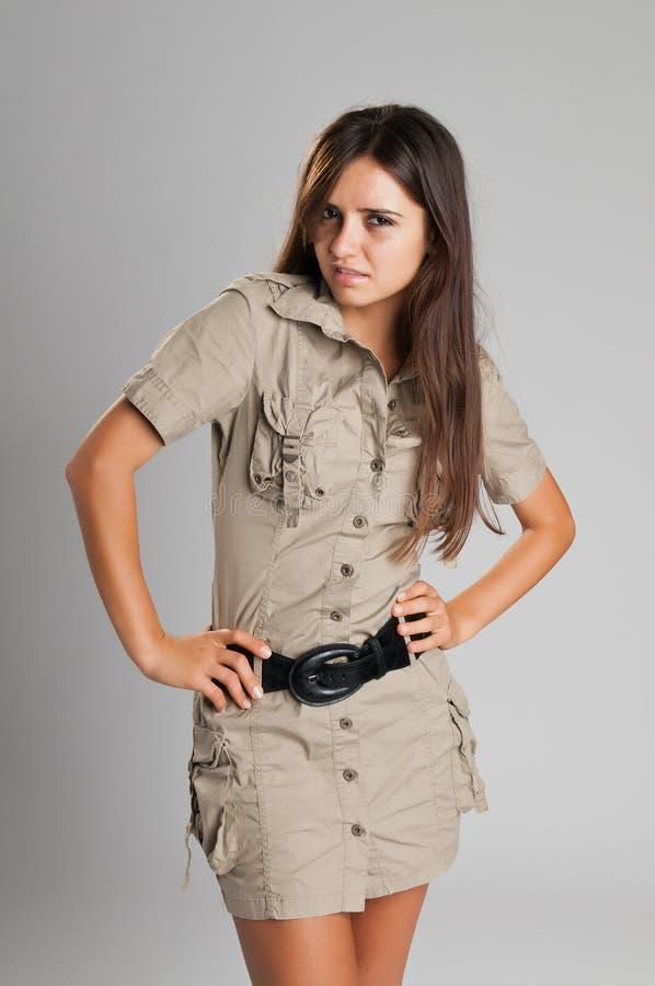 Vestito da safari fotografia stock libera da diritti