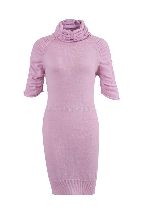 Vestito dalla lana della donna fotografia stock libera da diritti