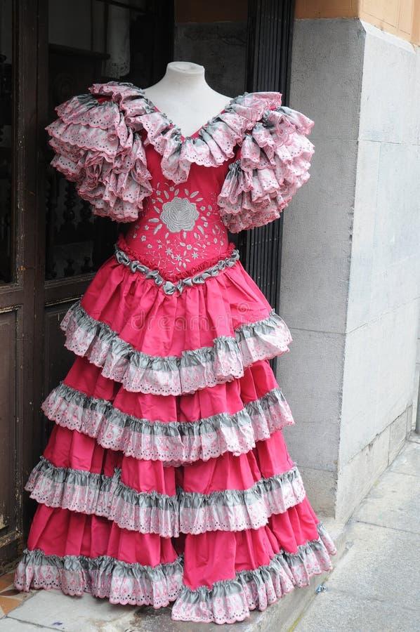 Vestito dallo Spagnolo fotografia stock