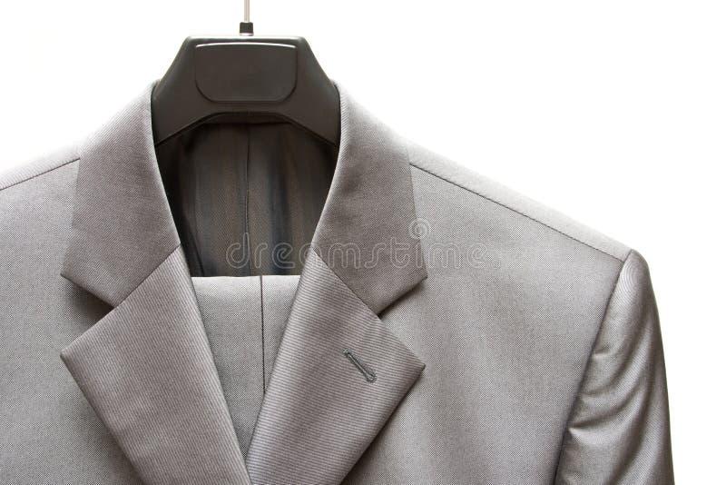 Vestito degli uomini grigi immagine stock libera da diritti