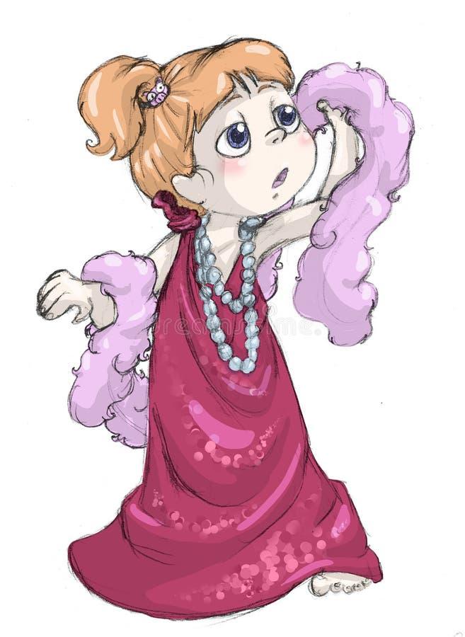 Vestito della madre illustrazione vettoriale