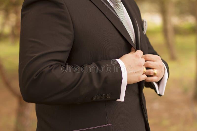 Vestito di nozze fotografia stock