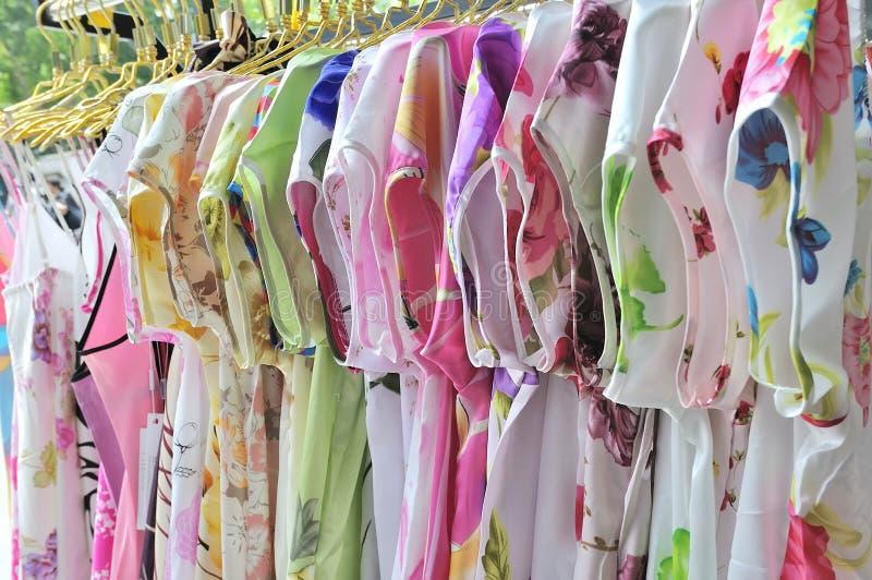 Vestito di seta immagini stock libere da diritti