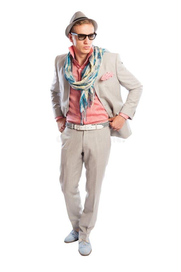 Vestito elegante ma casuale di modo fotografia stock libera da diritti