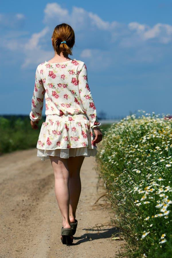 Vestito floreale fotografie stock libere da diritti