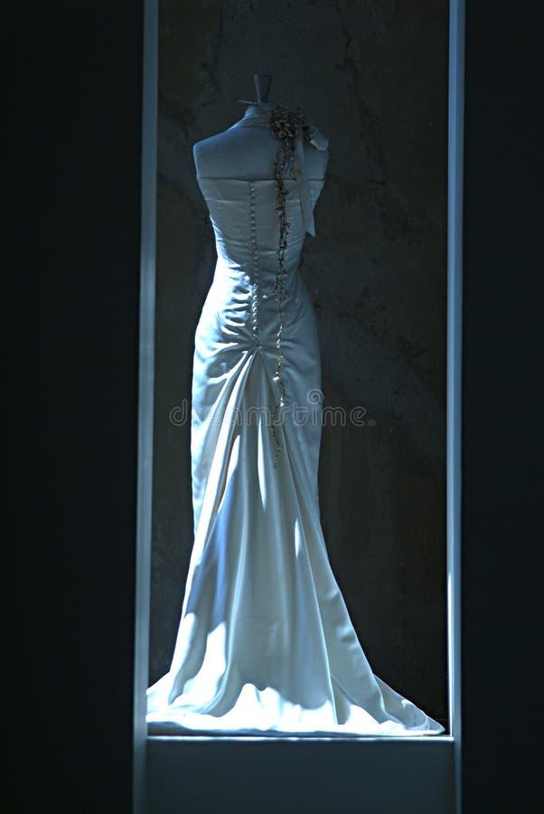Vestito per la sposa nelle nozze immagini stock