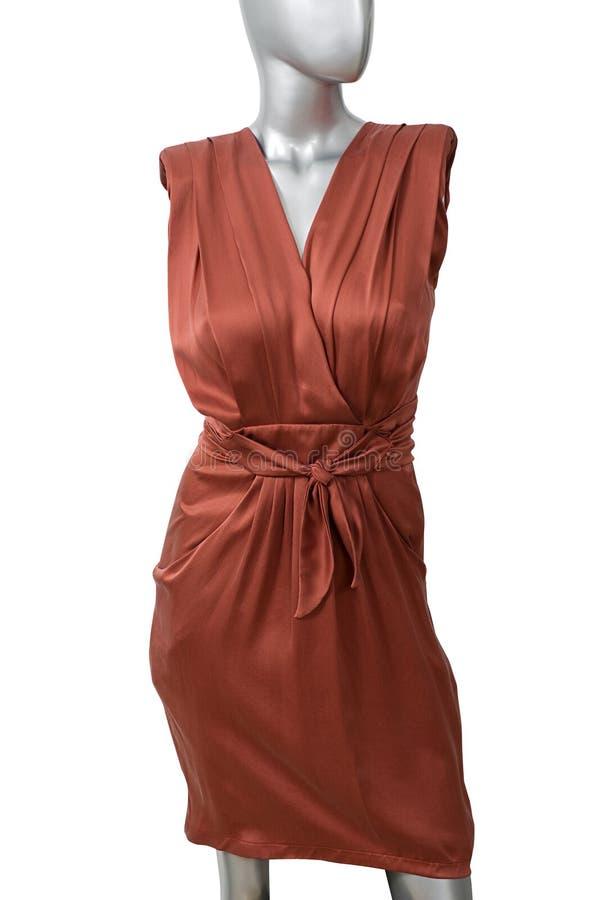 Vestito rosso porpora immagini stock libere da diritti
